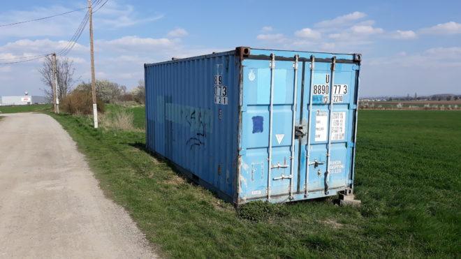 Je kontejner vodotěsný?