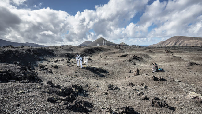 Lanzarote: trenažér pro cesty do vesmíru