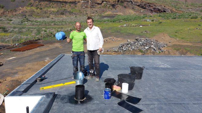 Děláme druhou střechu